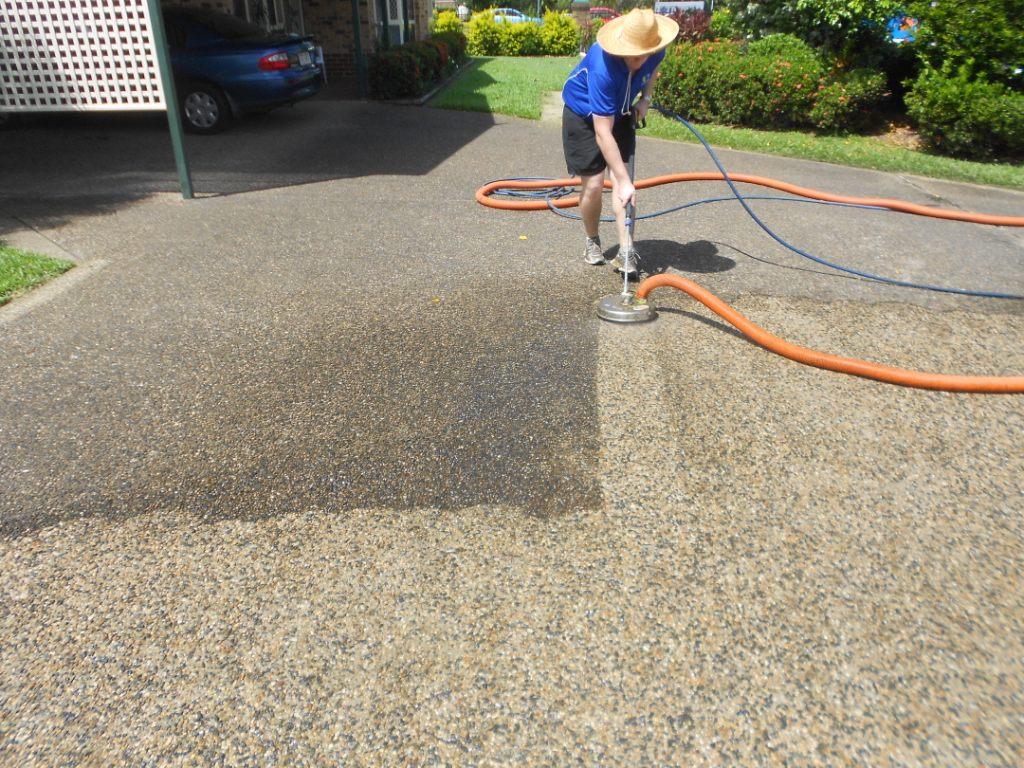 port douglas driveway pressure cleaning