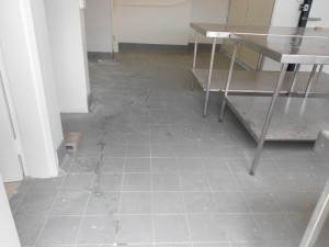 Interior tiling professional cleaning