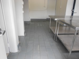 Commercial tiling clean