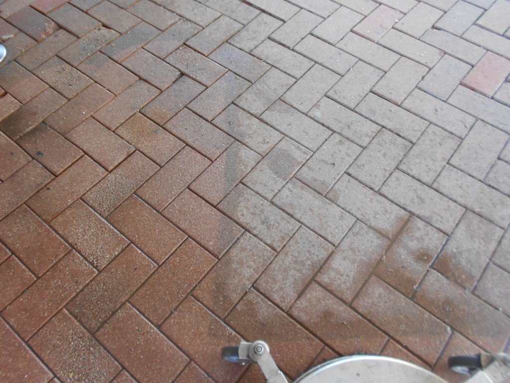 protect finish pressure cleaning