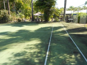tennis court professional cleaning
