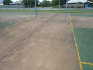 Tennis court cleaning cairns