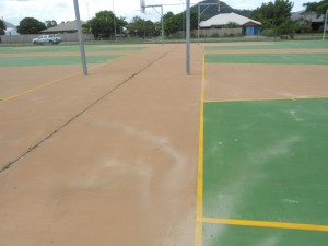 sports ground pressure cleaning